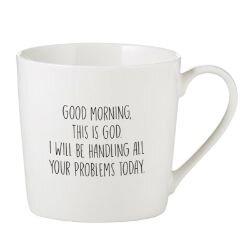 Good Morning, This is God Cafe Mug