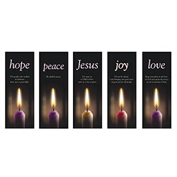 Advent Candle X-Stand Banners - 5/set