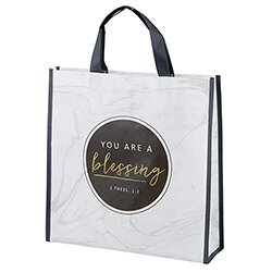 You Are a Blessing Tote Bag - 12/pk