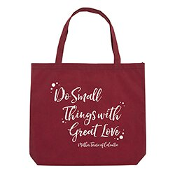Do Small Things with Great Love Tote Bag - 12/pk