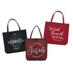 Best-Selling Tote Bag Assortment (3 Asst) - 36/pk