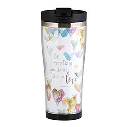 Done in Love Travel Tumbler - 2/pk
