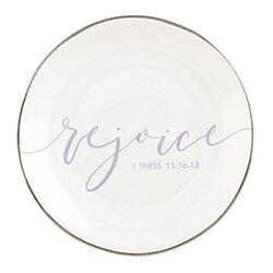 Rejoice Jewelry Dish - 6/pk