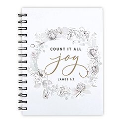 Count it All Joy Notebook - 6/pk