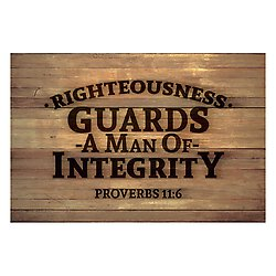 Pass it On - Righteousness Guards a Man of Integrity