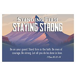 Pass it On - Standing Firm