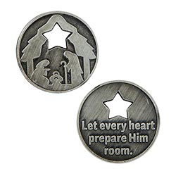 Living Advent Pocket Coin - 12/pk
