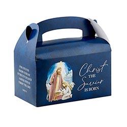 Nativity Christmas Treat Box - 36/pk