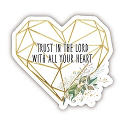 Trust in the Lord Decal - 24/pk