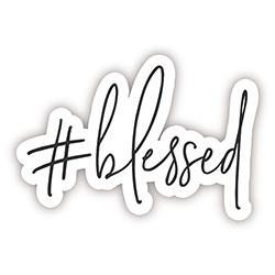 #blessed Decal - 24/pk