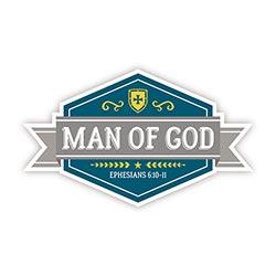 Man of God Decal - 24/pk