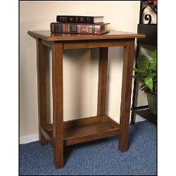Credence Table - Walnut Stain