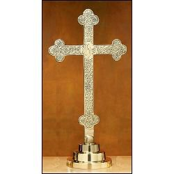 Budded Cross with Filigree Design