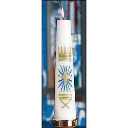 Nativity Christ Candle