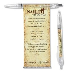 Nail It To the Cross Banner Pen