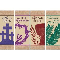 Easter Series X-Stand Banners - Set of 4
