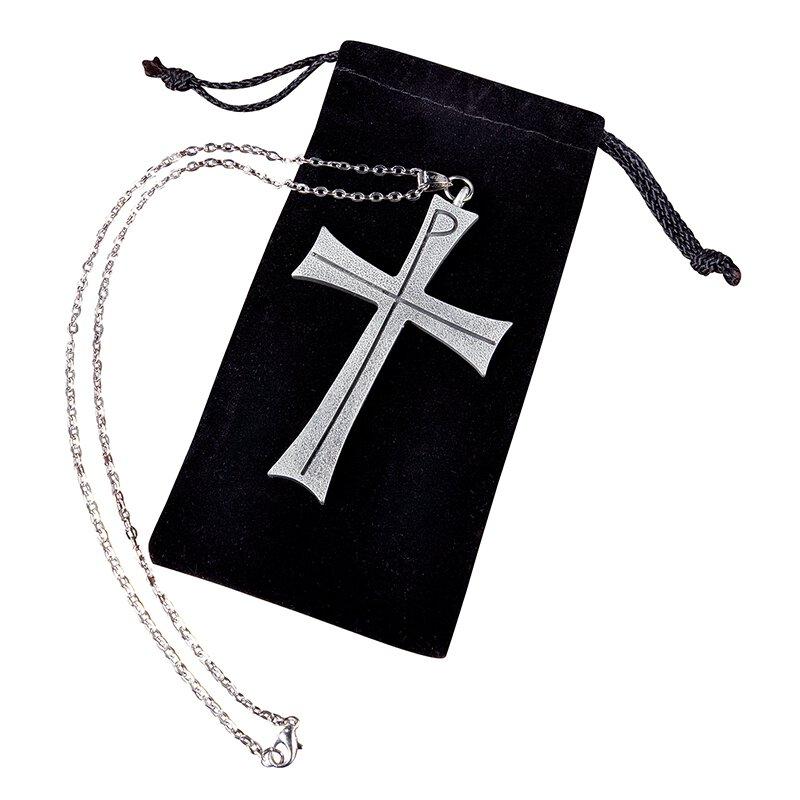 Chi Rho Latin Clergy Cross