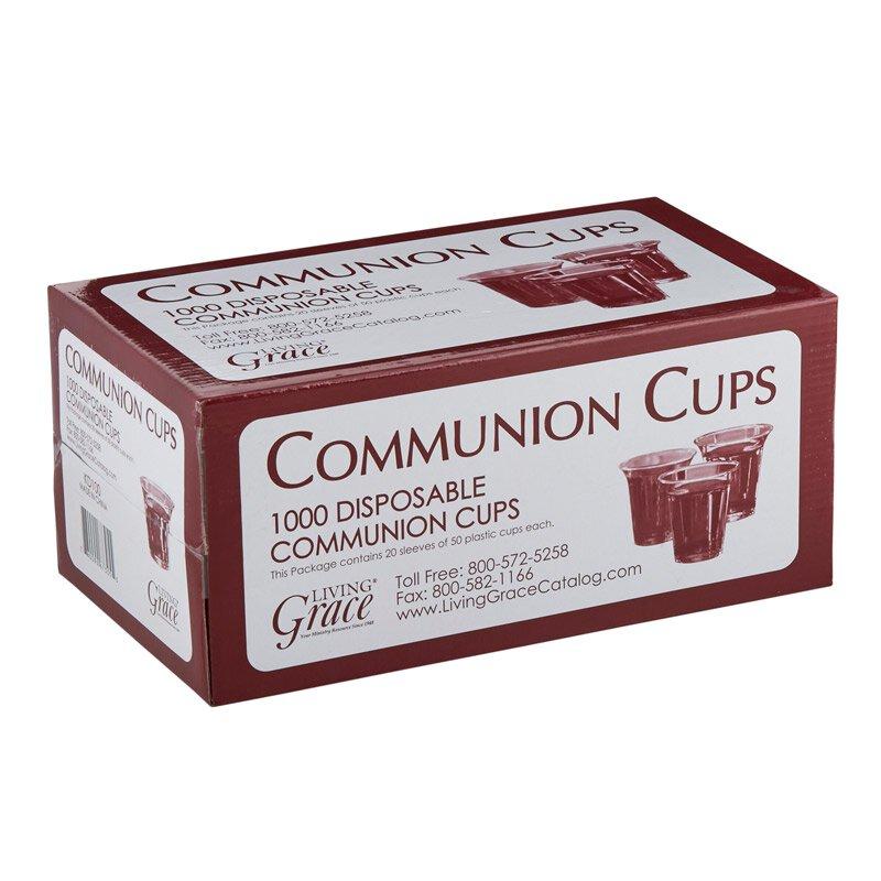 Living Grace® Recyclable Communion Cup - 1000/bx - 4 bx/cs