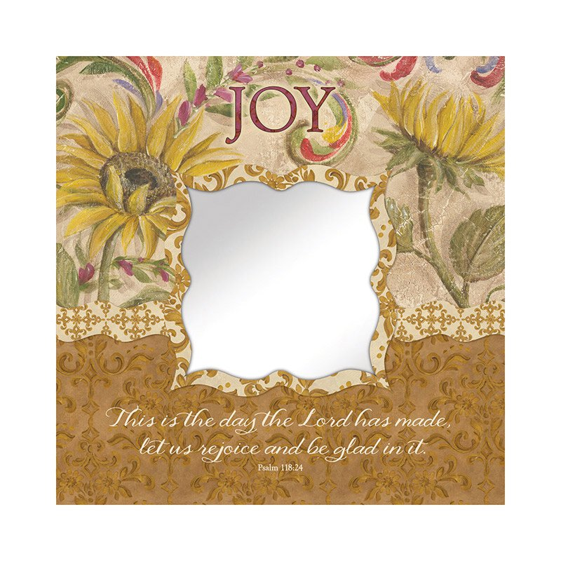 Joy (Psalm 118:24) Mirror Wall Art