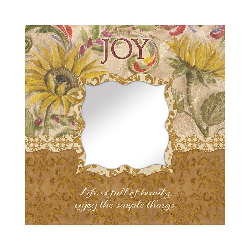 Joy Mirror Wall Art