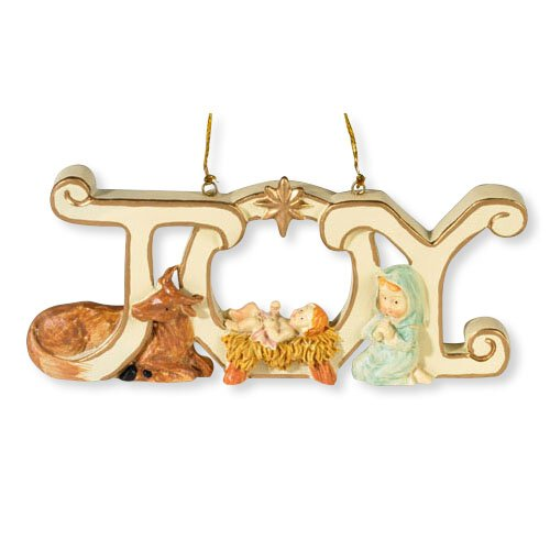Joy Nativity Ornament