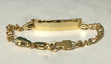 Girls ID Bracelet