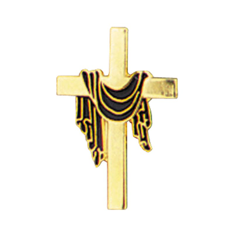 Lenten Cross Lapel Pin - 25/pk