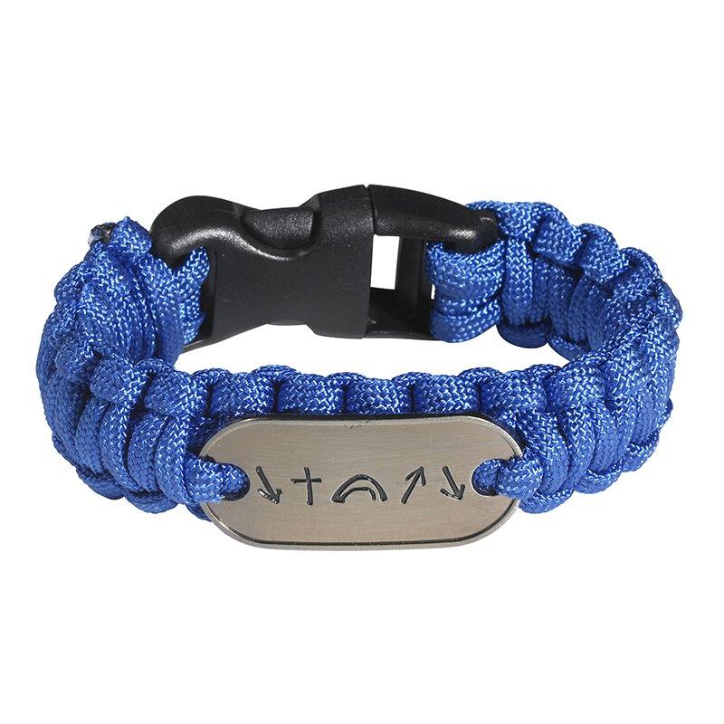 Witness® Survivor Bracelet Blue