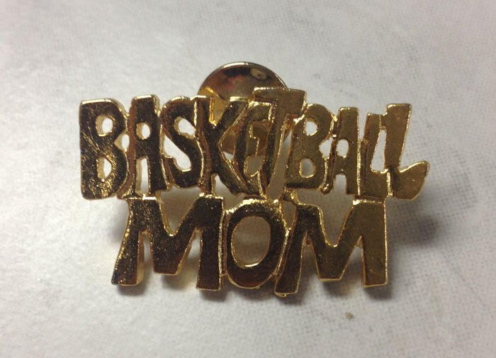Basketball Mom Pin