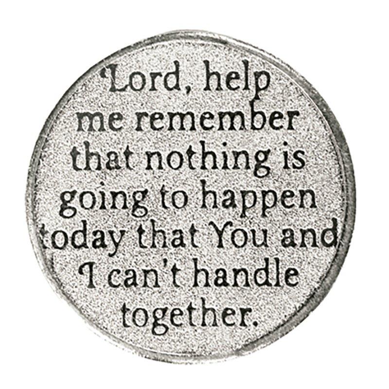 Lord, Help Me Pocket Token - 12/pk