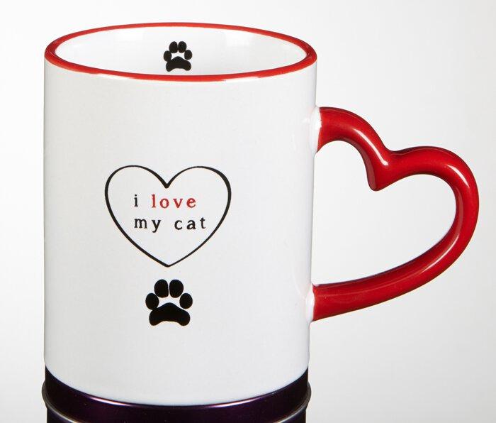 Mug - I Love My Cat  - 6/pk