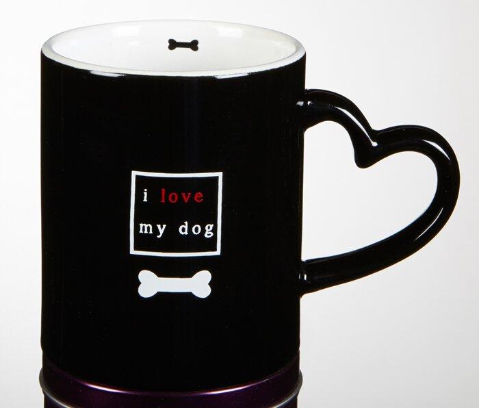 Mug-I Love My Dog  - 6/pk