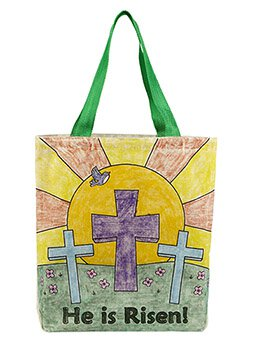 Color-Your-Own Tote Bag - Easter
