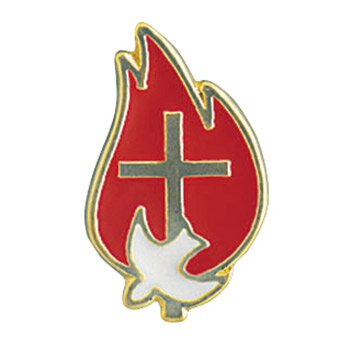 Come Holy Spirit Confirmation Lapel Pin with Bookmark - 12/pk