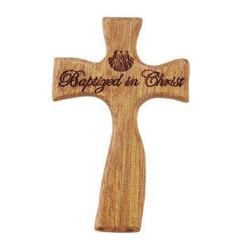 Baptized in Christ Hand-Held Cross - 4/pk