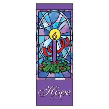 Celebrate Advent Series X-Stand Banner - Hope
