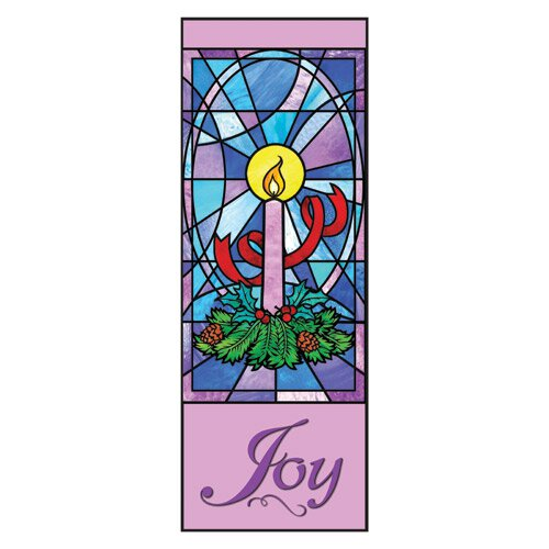 Celebrate Advent Series X-Stand Banner - Joy