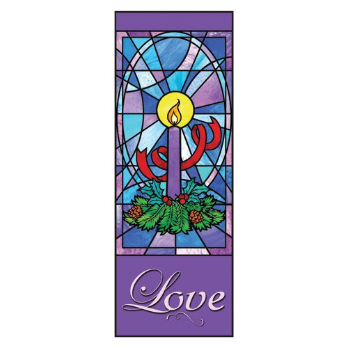Celebrate Advent Series X-Stand Banner - Love