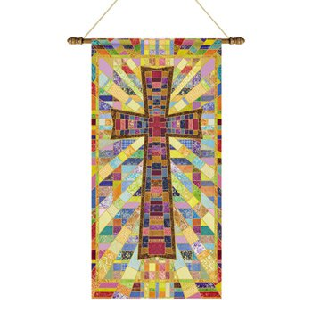 Tapestry Series Banner - Cross