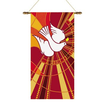 Tapestry Series Banner - Dove