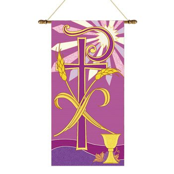 Tapestry Series Banner - Chi Rho