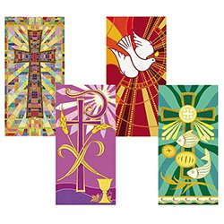 Tapestry Series Banners - Set of 4