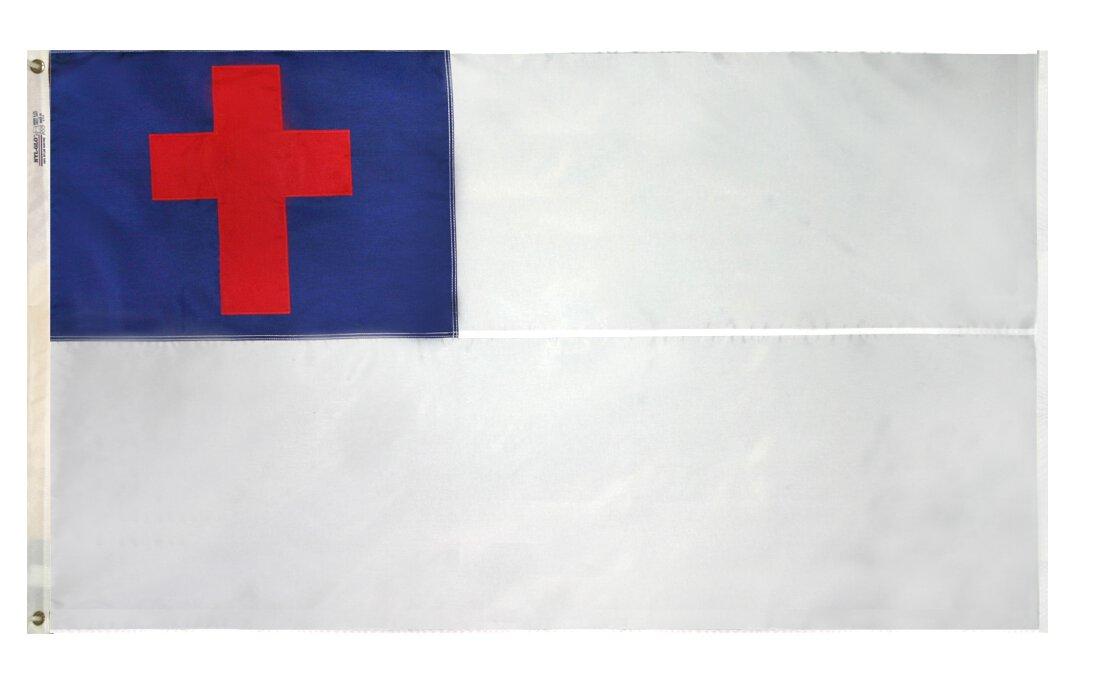 5 x 8 Outdoor Christian Flag