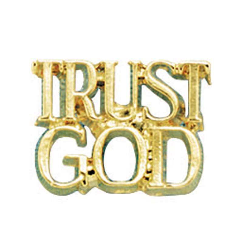 Trust God Lapel Pin - 25/pk