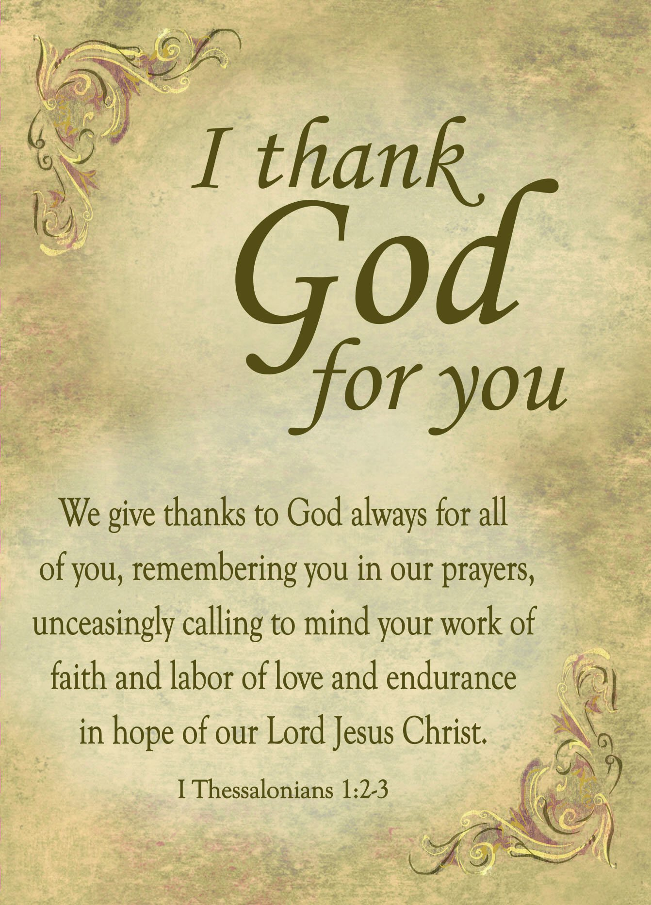 appreciation of thank you god The importance of saying thank you by linda gilden  gratitude and appreciation are important  god has made it possible for you to know him and experience an .