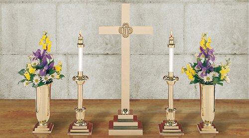 30 Altar Cross/IHS Set