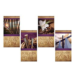 Easter Series Banners - Set of 4