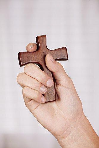 ASAP Hand Cross with Prayer Card - 4/pk