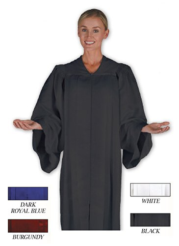 Classic Choir Gown - Matte Color Chart