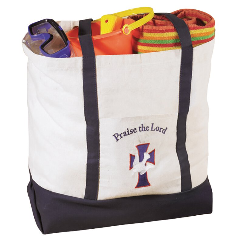 Praise the Lord Large Tote Bag -  4p